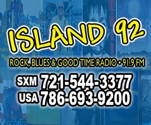 Island 92 side ad
