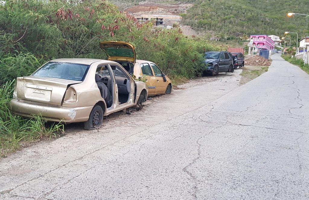 Cole Bay car wrecks | SXM Talks